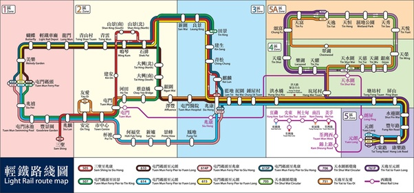 What Does A Realistic Map Of The Hong Kong Mtr Look Like