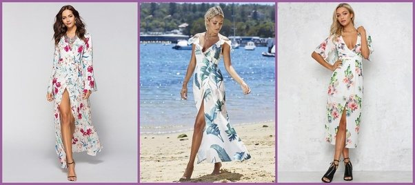 What does \'beach chic\' mean for a dress code when attending a ...
