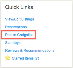 How does Airbnb automatically post on Craigslist? - Quora