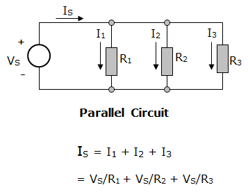 How does voltage distribute itself in a parallel circuit for equal  resistance? - QuoraQuora