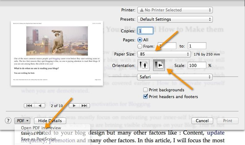 Save Web Pages As Pdf