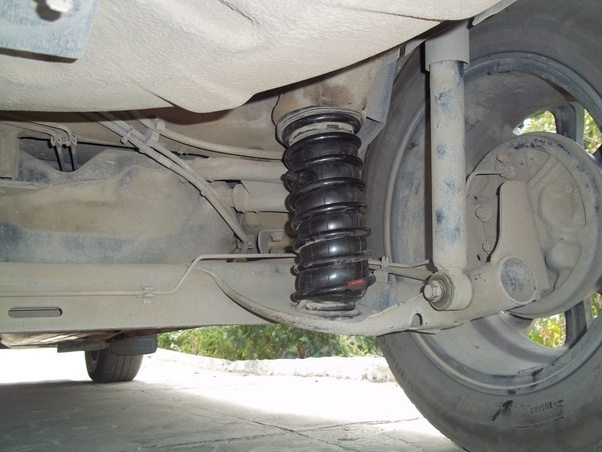 how to add ground clearance to a car