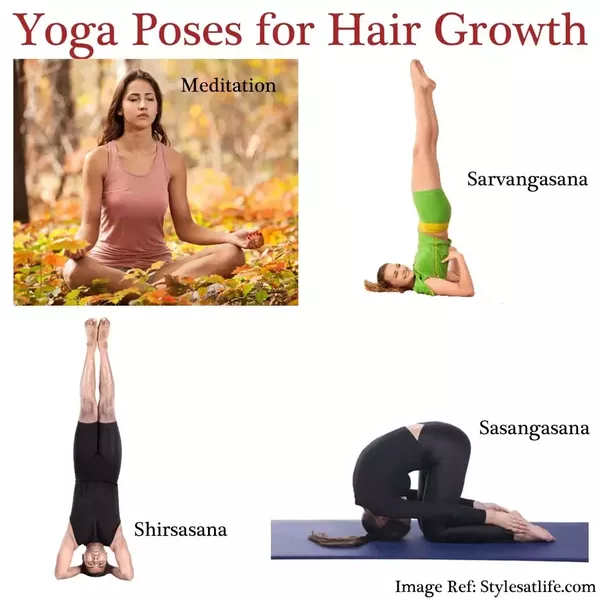 How to stop hairfall by doing yoga - Quora