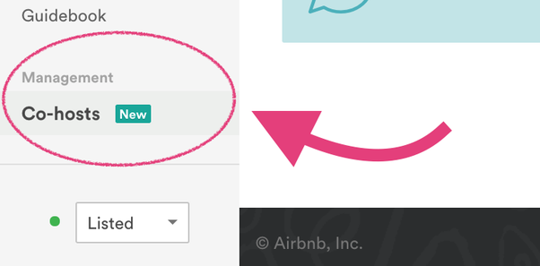 Is there a way to connect two Airbnb accounts to one listing? My