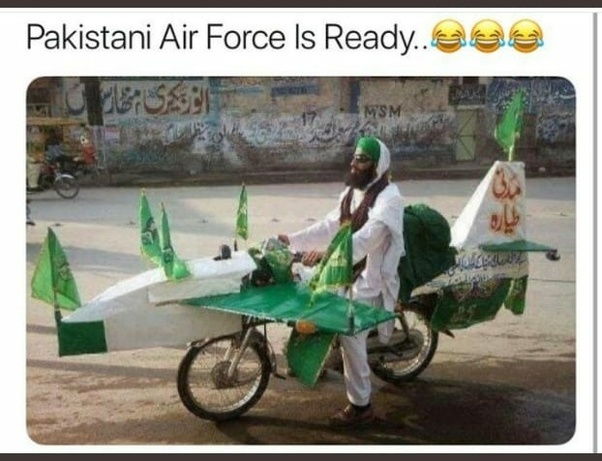 What are the best tweets on the Indian Air Force strike on