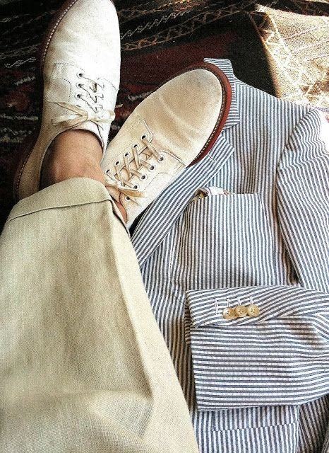 Most Likely To Questions >> What shoes should a man wear with linen pants to a wedding ...