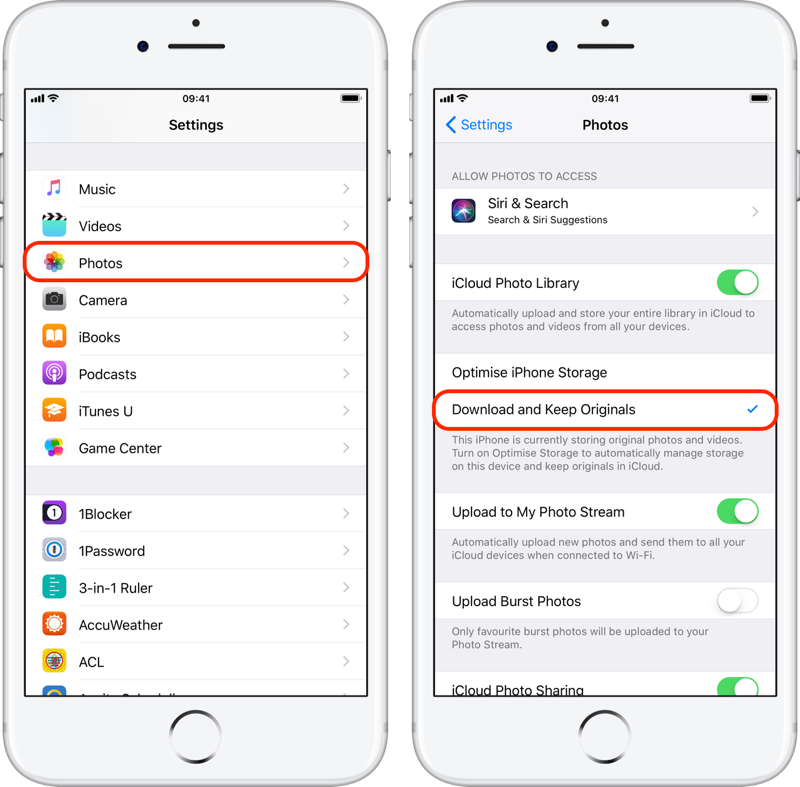 How to turn off optimize photos for iPhone - Quora