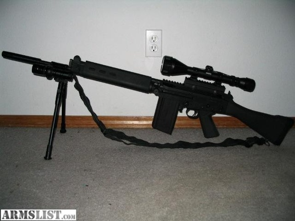 What semi auto  308 rifle is best suited for combat? - Quora