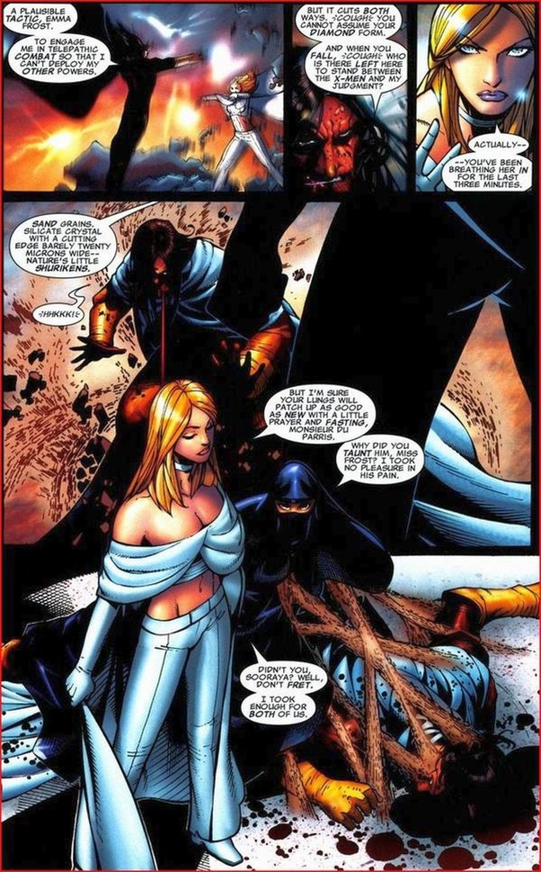 Is Charles Xavier More Powerful Than Emma Frost Quora