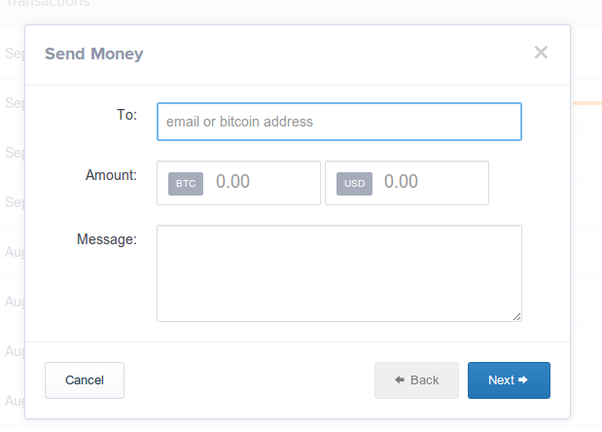 how to transfer cryptocurrency from coinbase to wallet