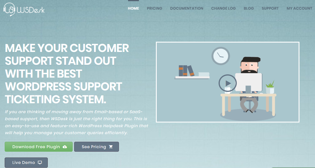 What manages tickets like Zendesk but deploys on-premise