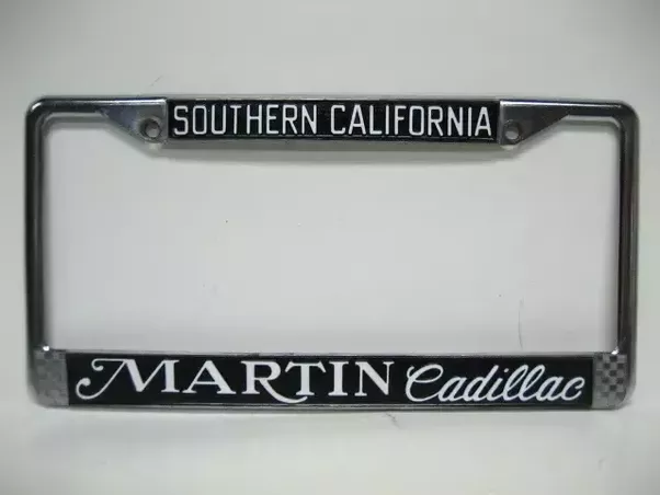 Does a license plate frame serve any practical purpose? - Quora