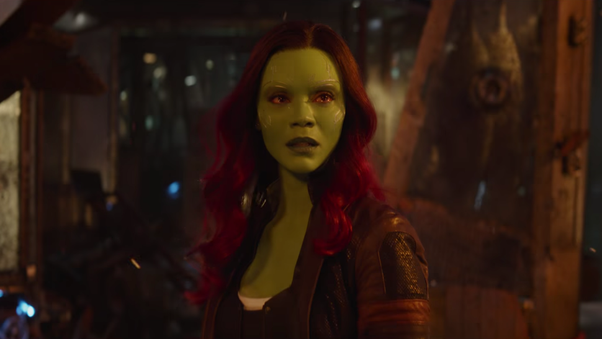 What happened to Gamora after kicking Starlord in Avengers ...