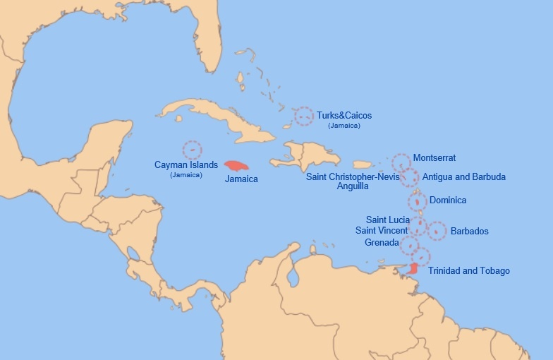 Why did former British Caribbean island nations become separate ...