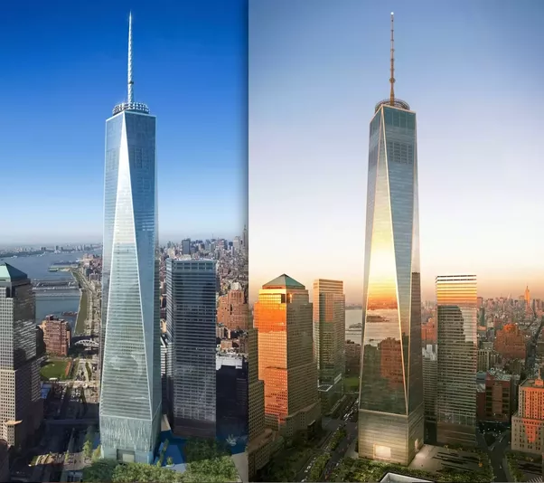 Is One World Trade Centers Cool Triangle And Rectangle Design