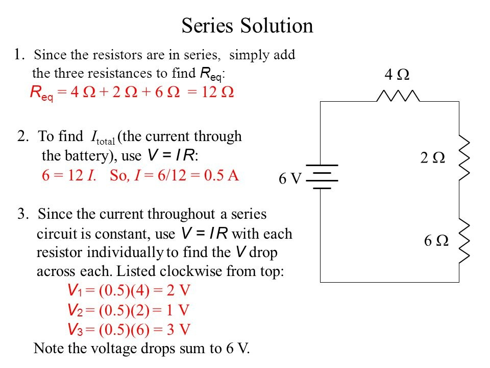 why is the voltage divided in a series connection? quora