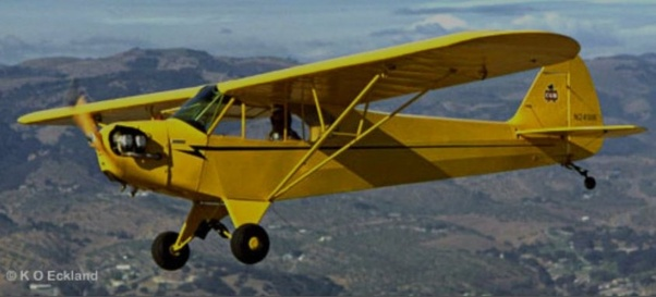 I saw a Stearman trainer at an airshow yesterday with just