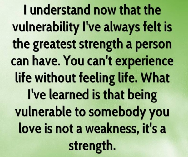What does it mean to be vulnerable, emotionally? How does it