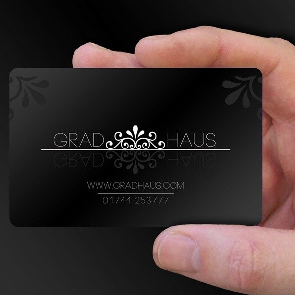 I need a business card that reeks of pretentiousness and bling what their custom cards are the size of a credit card and easily fit into a wallet the vibrant full color imprint is protected under a durable waterproof reheart Gallery