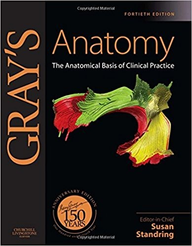 What are the great reference books in field of human anatomy