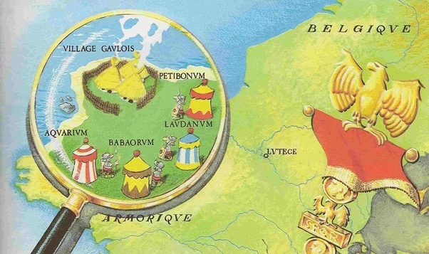 In the present day france where is the gaulish village of asterix however there seems to be a consensus that the landscapes in the comic were inspired from the area around erquy google maps thecheapjerseys Images