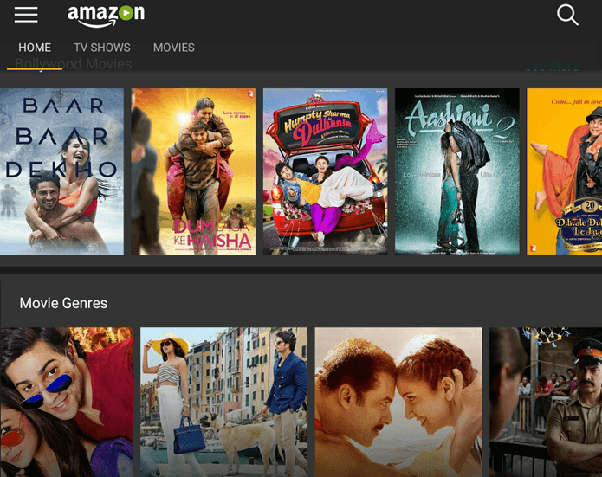 Which is the better streaming service in India, Amazon prime