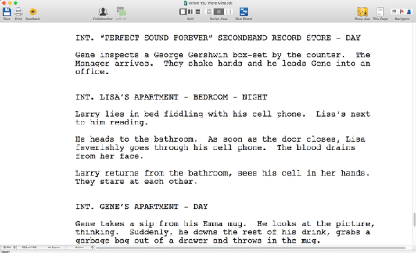 Which is best screenplay writing software? - Quora