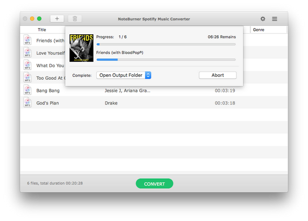 How to download music from spotify without premium | noteburner.