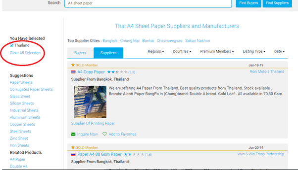 How to contact A4 paper manufacturers or wholesalers in Thailand - Quora