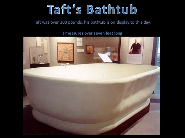 Which President Didn T Fit In His Bathtub Quora
