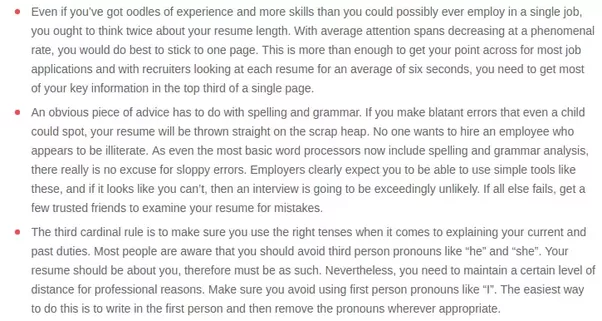 And Tips On CV Writing You Might Find Useful: Update Your CV Using 2017  Resume Rules.