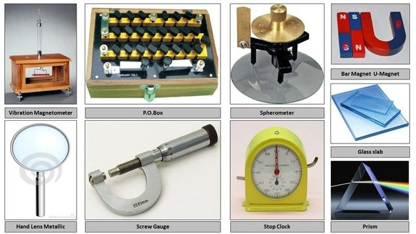 laboratory apparatus and equipment in physics