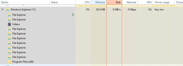 Why does Windows Explorer take up so much CPU usage? I ...
