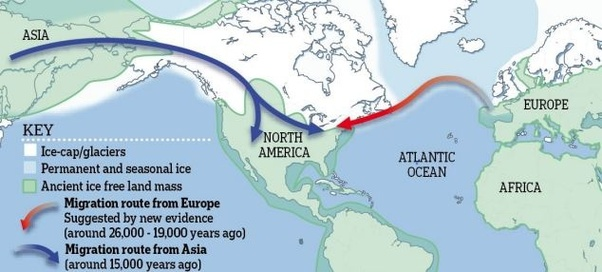 Asian migration to north america