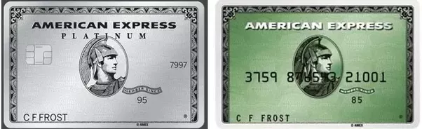 lastly there are the amex business opencorporate cards these are usually rebranded personal cards and while some look almost identical like the co - American Express Business Credit Card