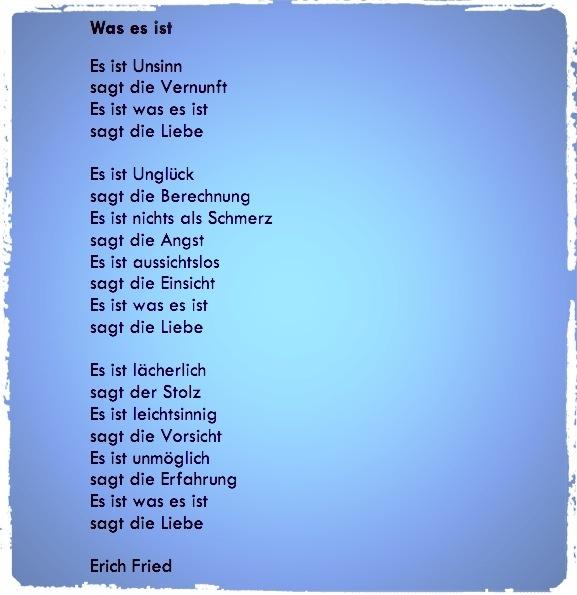 Was sind Eure Lieblingsgedichte zum Thema Liebe? - Quora