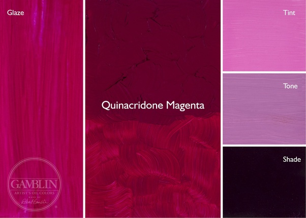 Of Oil And Acrylic Colors Called The Quinacridones They Are Artificially Derived Not Mixed As Such Famous For Being Exquisitely Saturated