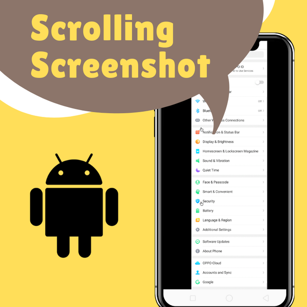 How to take a long continuous screenshot on an Android phone - Quora