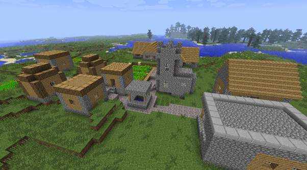 What is the best way to find a village in Minecraft? - Quora
