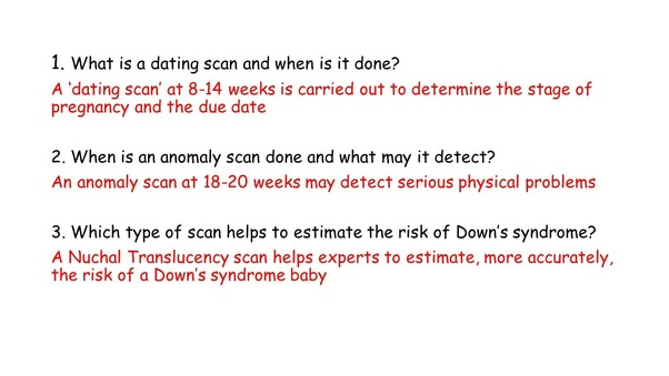What is the difference between NT scan and OBG (Anamoly Scan