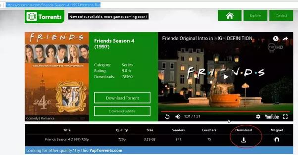 friends complete season torrent download
