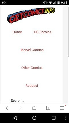 Are there any sites or blog that lets you read Marvel comics