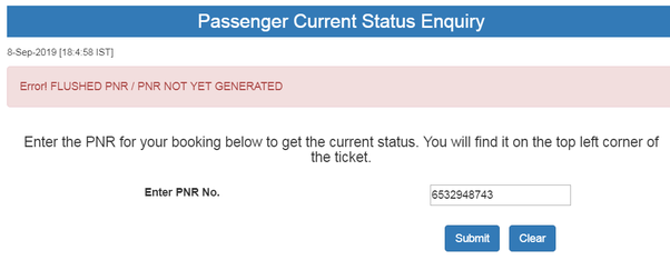 How To Get Pnr Number Of Lost Air Ticket