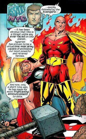 Who Would Win In A Fight Between King Hyperion And Superman Quora