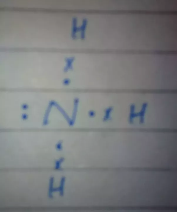 How To Determine The Lewis Dot Structure Of Ammonia Quora
