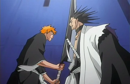 Image result for kenpachi defeats ichigo