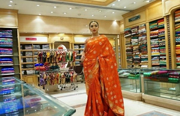 Bangalore's iconic saree retailer. Sarees: Kanjeevarams, tusars, banarasis,  tanchois, embellished georgettes, and many more. Centrally located near MG  Road ...