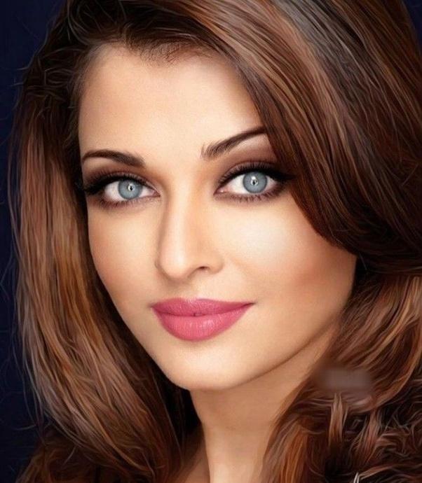 Are Aishwarya's blue eyes real? - Quora