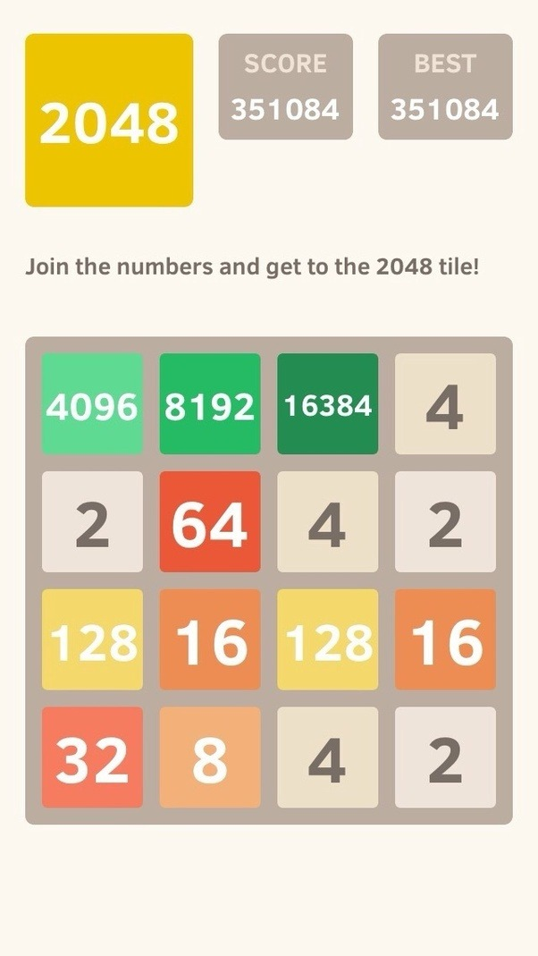 2048 Game [Original]: Join the numbers and get to the 2048