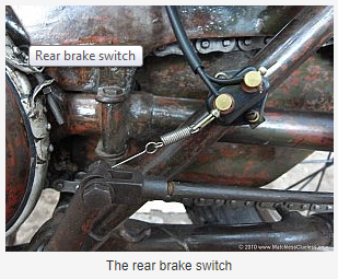 How does the brake light work when the brake pedal is pressed? - Quora